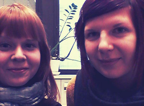 Ida Andersson ja Heli Koponen