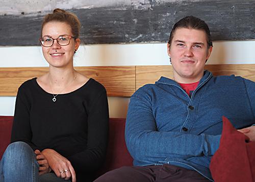 Tiia Merikanto ja Taneli Hulkko
