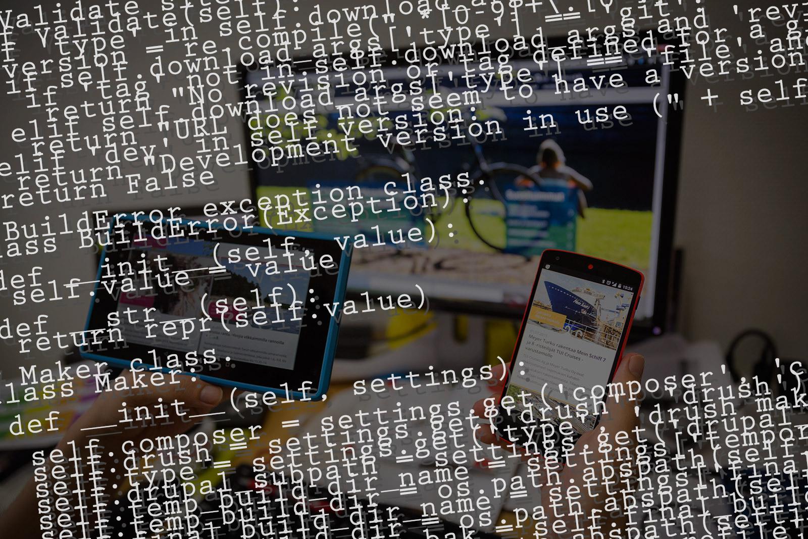 Verkkopalvelun koodi on jaettu vapaasti hyödynnettäväksi.