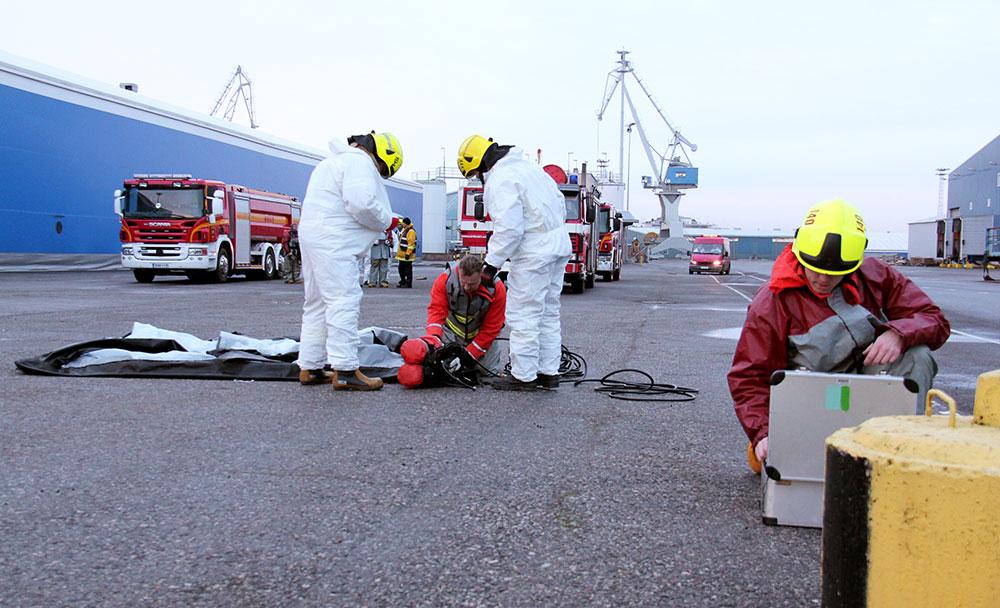 Myös pelastuslaitos varautuu mahdollisten vaaratilanteiden varalle alueellaan.