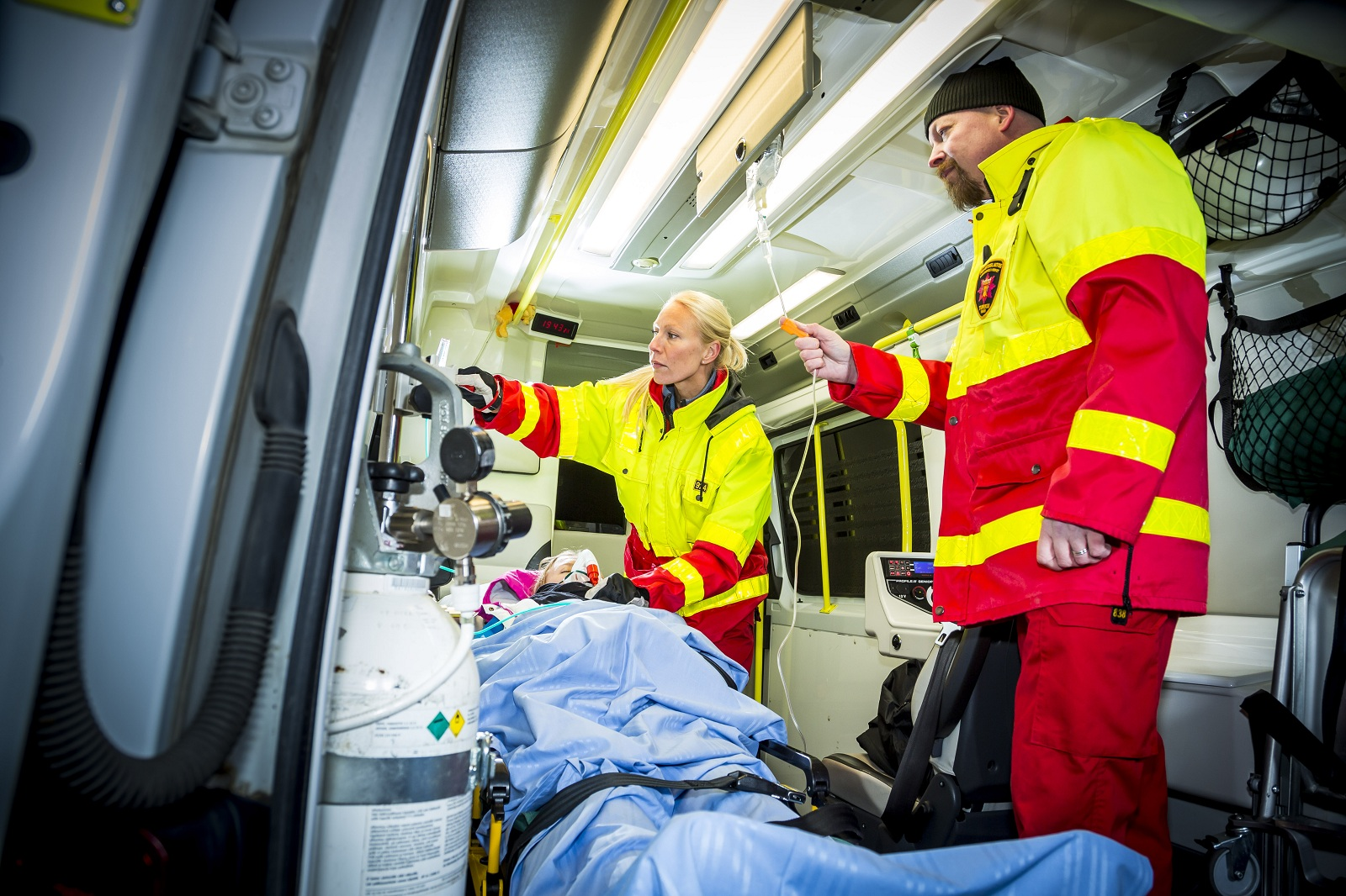 Myydään Ambulanssi