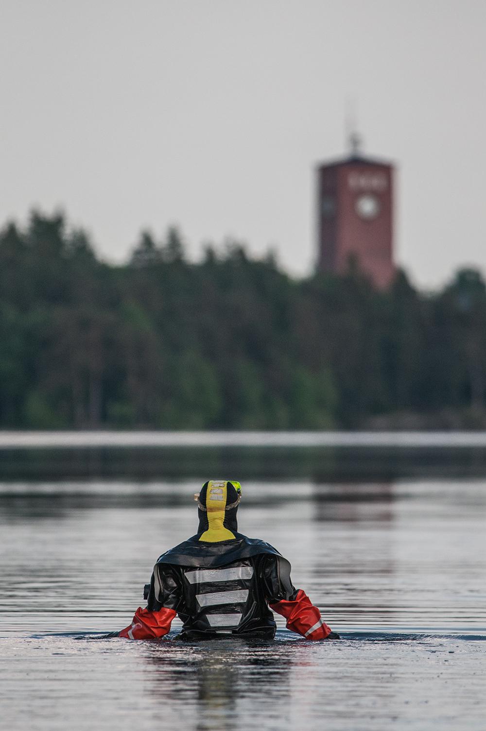 Vpk-harjoitus Littoisten järvellä. Kuva: Elina Helkala