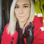 Kuvassa on Janina Etu-Anttila